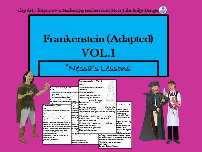 Frankenstein (Adapted) - Vol.1
