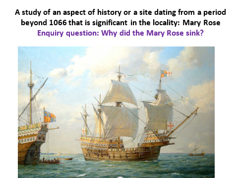 Mary Rose planning and resources