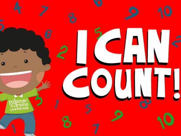 Music video for preschool children - 'I Can Count'