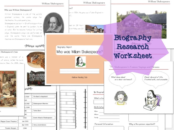 biography research report william shakespeare biography worksheet by lastlawn teaching. Black Bedroom Furniture Sets. Home Design Ideas