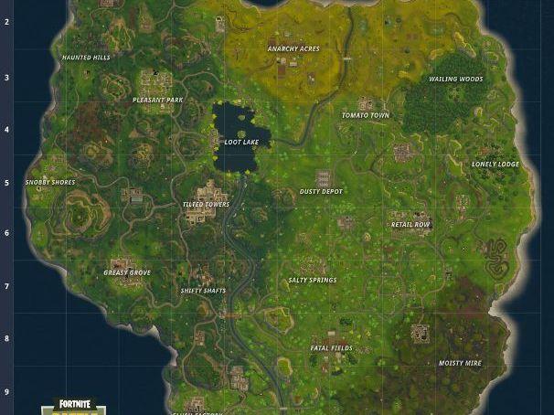 Fortnite Geography: Upper KS2