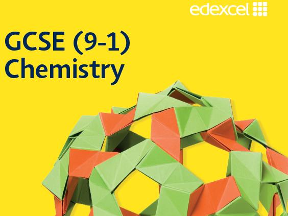 Edexcel GCSE (9-1) Combined Science Chemistry Paper 1 revision placemats