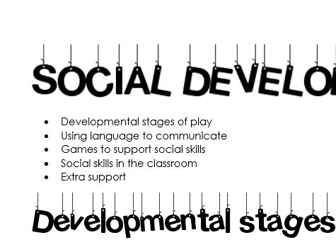 Social development booklet