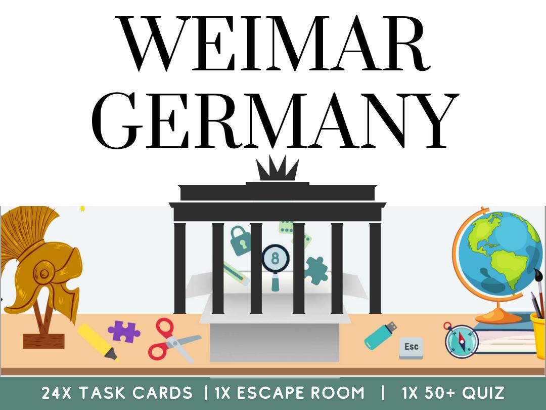 Weimar Germany and  Nazi Germany