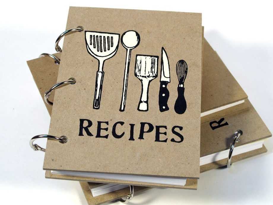 YEAR 7,8 AND 9 RECIPE BOOKS - The full monty!