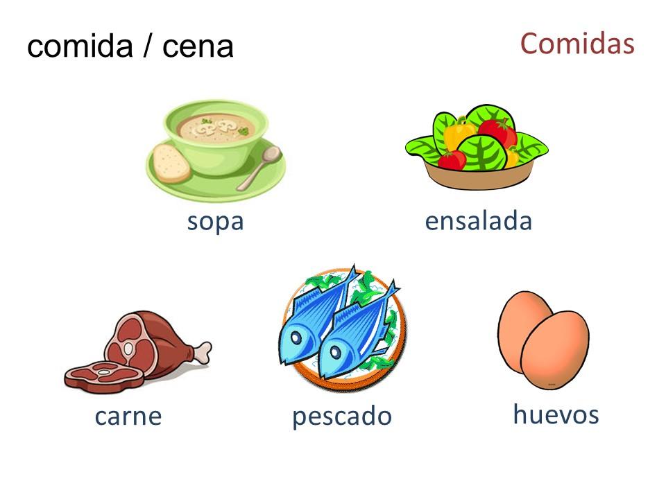 Comidas / Meals