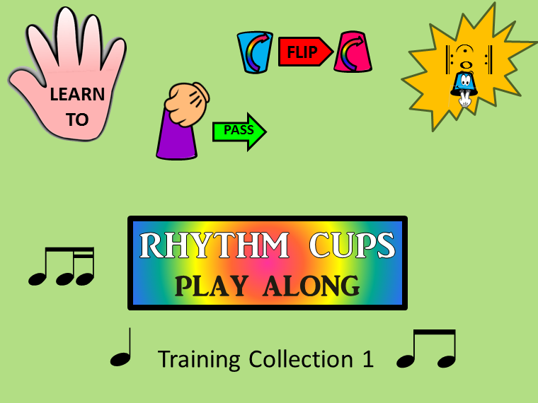Rhythm Cups Play Along Training Collection 1