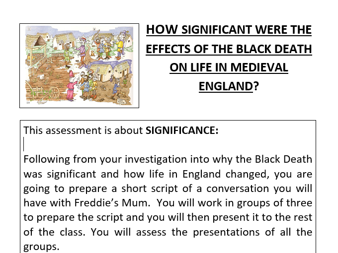 Significance of the Black Death