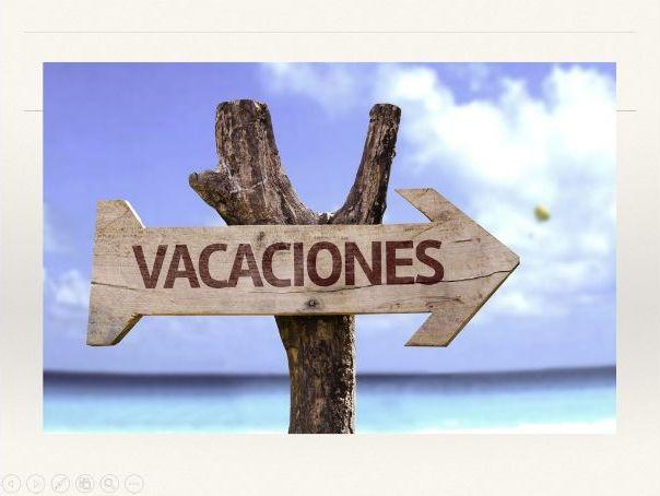 Vacaciones - Holidays