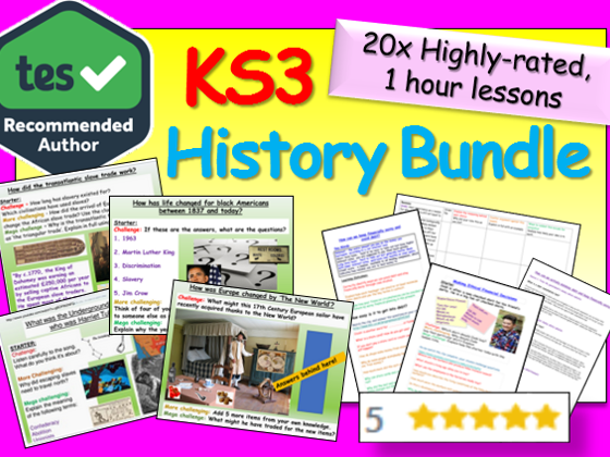 KS3 History Mega Bundle