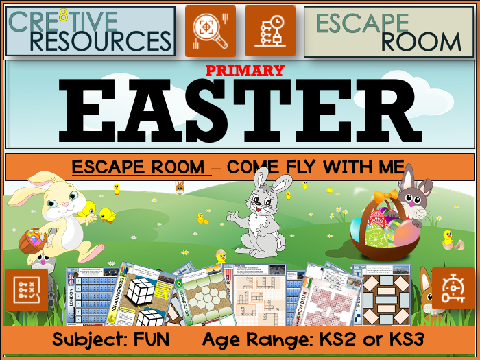 Easter 2021 Escape Room