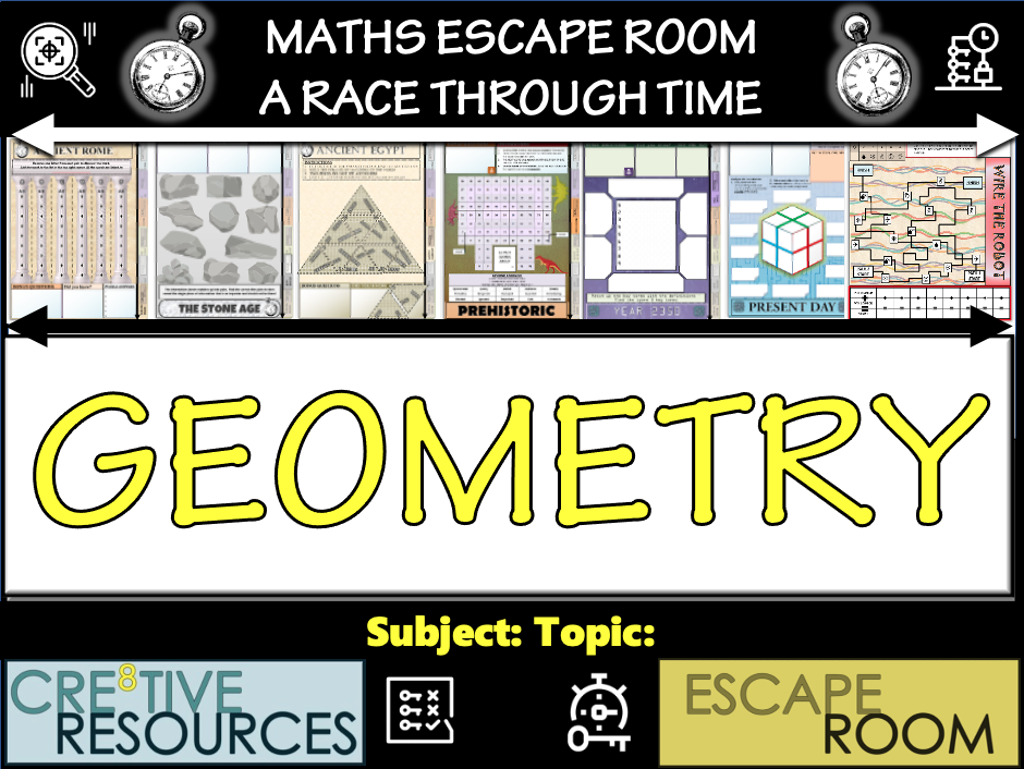 Geometry Escape Room | Teaching Resources