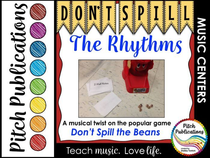 Music Center: Don't Spill the Rhythms! - Rhythm Game
