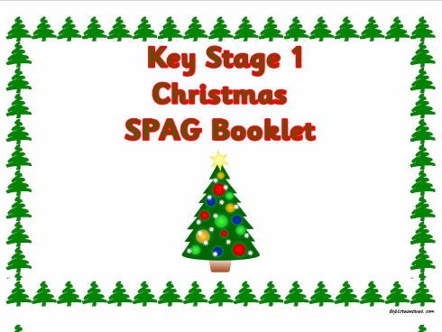 KS1 Christmas SPAG activity booklet.