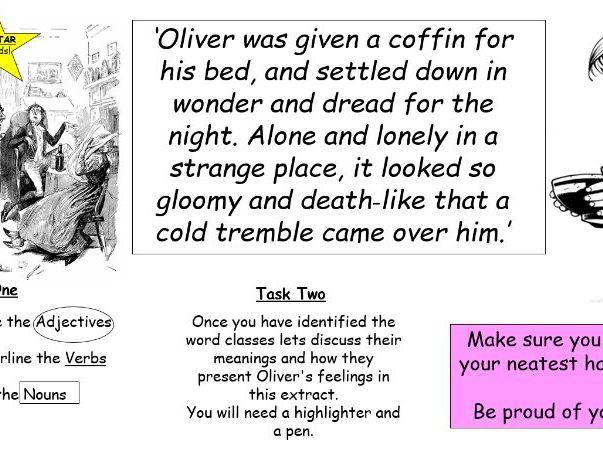 Oliver Twist Worksheets