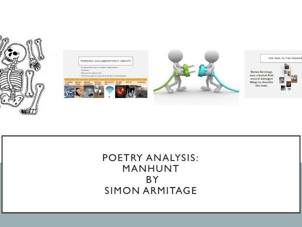 The Manhunt by Simon Armitage (Relationship Poetry)