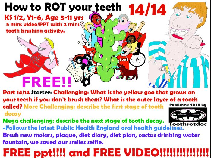 Free! How to rot your teeth! 14/14 School lunch, After School Snack, After School Birthday Treats