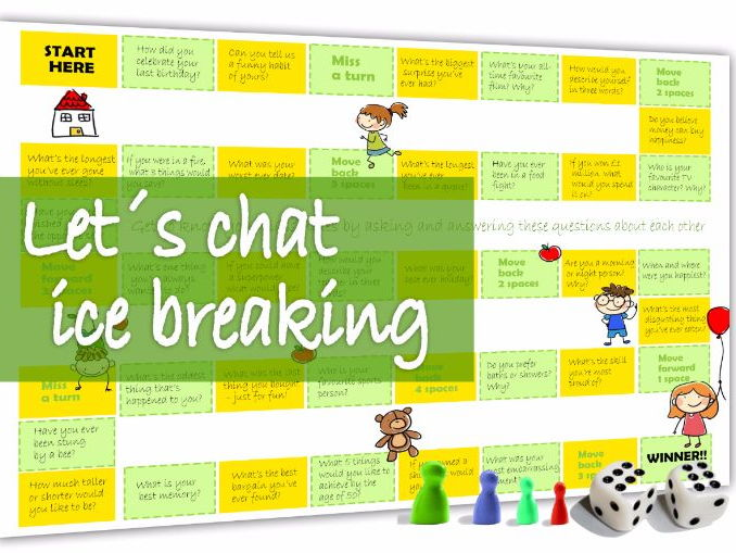 Let´s chat - a game for ice breaking or general conversation