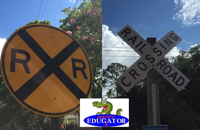 Dollar Stock Photos - Railroad Crossing Signs