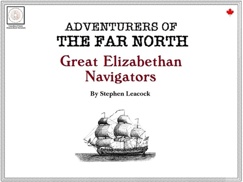 Think About History: Great Elizabethan Navigators (Canadian History)