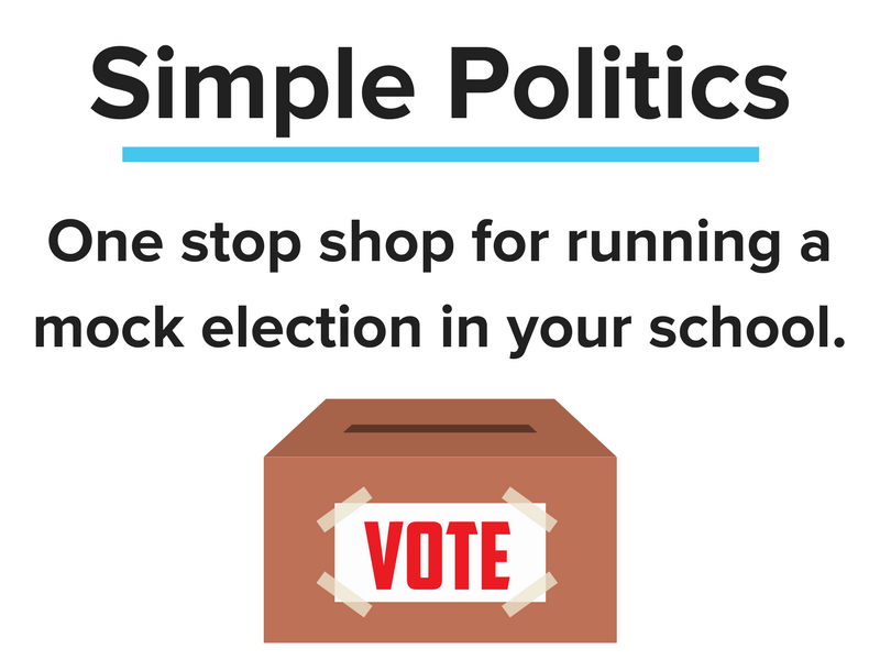 Mock election 2017  - one stop shop for everything you need!