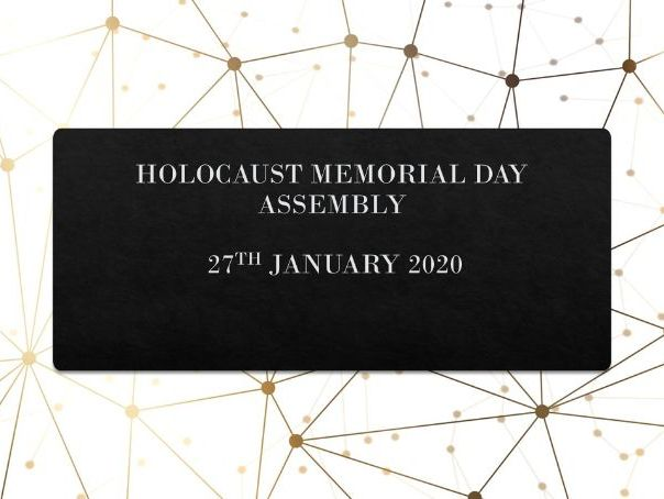 Assembly: Holocaust Memorial Day Assembly 2020
