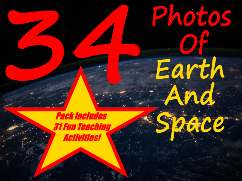 34 Stunning Views Of Earth and Space + 31 Fun Teaching Activities For These Cards
