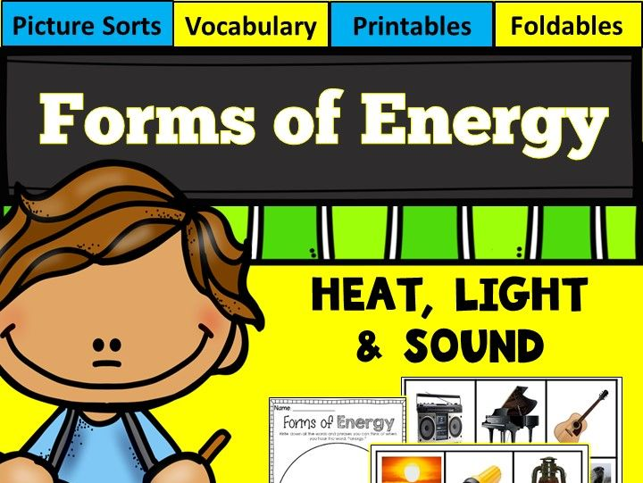 Forms of Energy (Heat, Light and Sound)