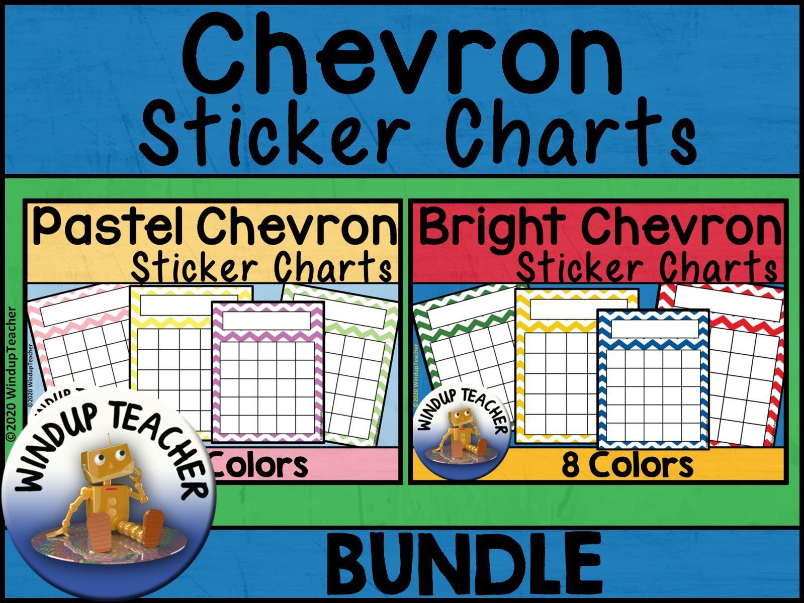 Chevron Reward Chart Bundle
