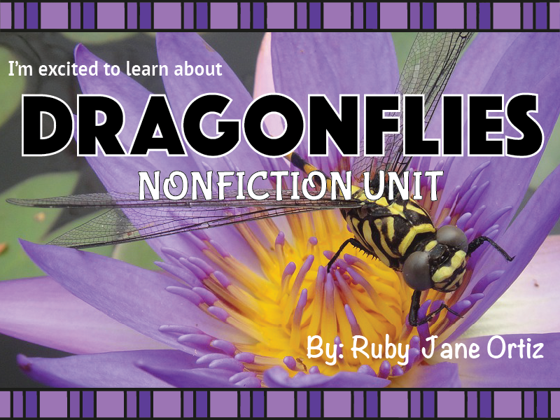 Dragonfly Nonfiction Unit