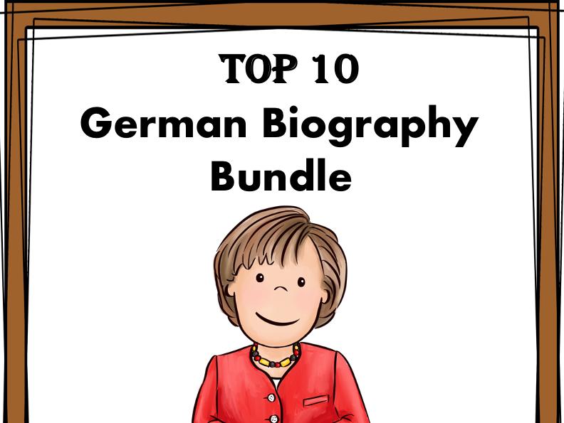 German Reading Bundle: Biographies: T0P 10 Germanic People @50% off!