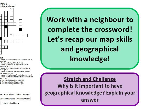 Map symbols - map skills - KS3 Geography