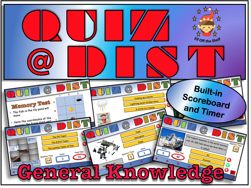 Distance Learning or Remote Learning Quiz KS3