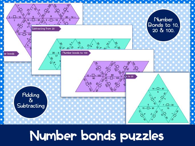 Number bonds: Warm up Activity