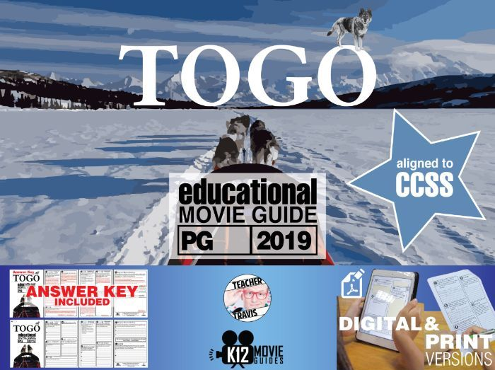 Togo Movie Guide   Questions   Worksheet (PG - 2019)