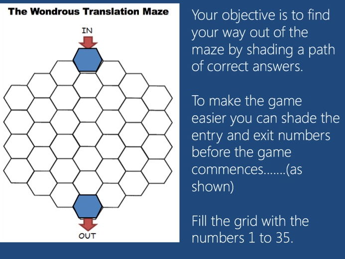 Game  - Translation  - Allez 2 - Nouvelles technologies