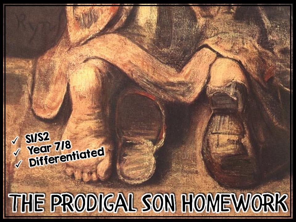 The Prodigal Son Homework