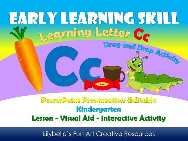 Letter Cc - Lesson - PowerPoint Presentation