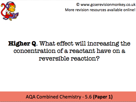Revision Cards - AQA Separate Chemistry 5.7