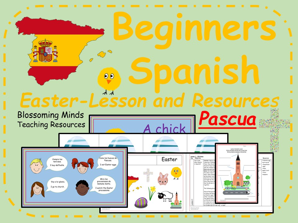 Spanish Lesson Pack - KS2 - Pascua (Easter)