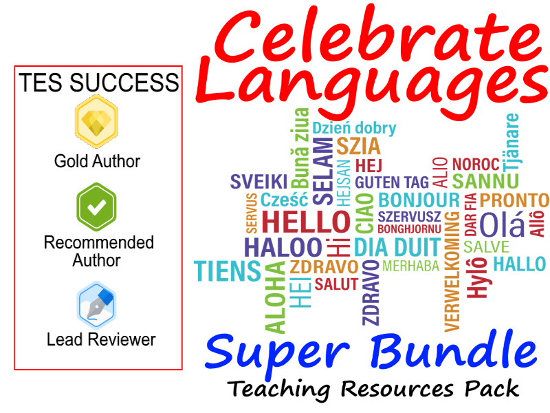 Celebrate Literacy and Diversity of Languages Bundle