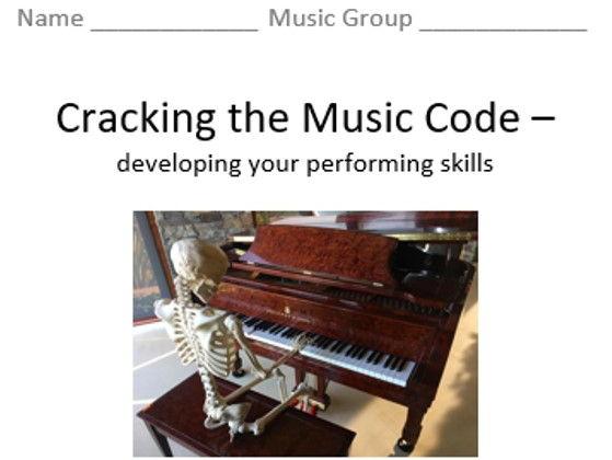 KS3 Cracking the Music Code (Rhythm) - Topic Booklet