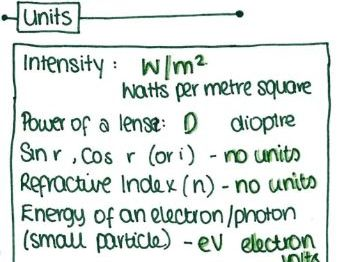 GCSE Physics P3 Summary Booklet