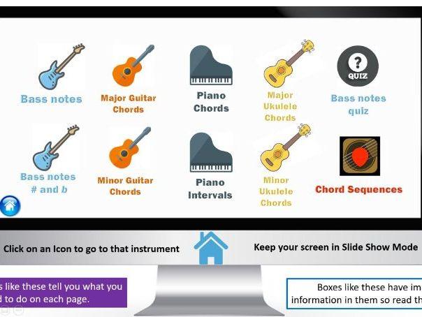 Interactive Chord Builder
