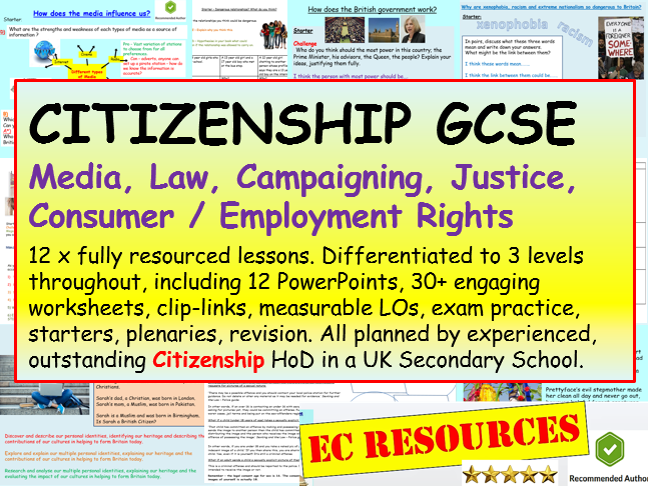 Citizenship GCSE 1