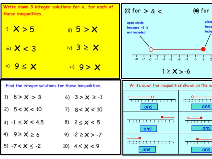 Inequalities (notebook)