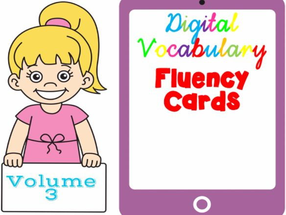 Digital Fluency Vocabulary Cards Volume 3