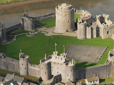 The Development of Stone Castles