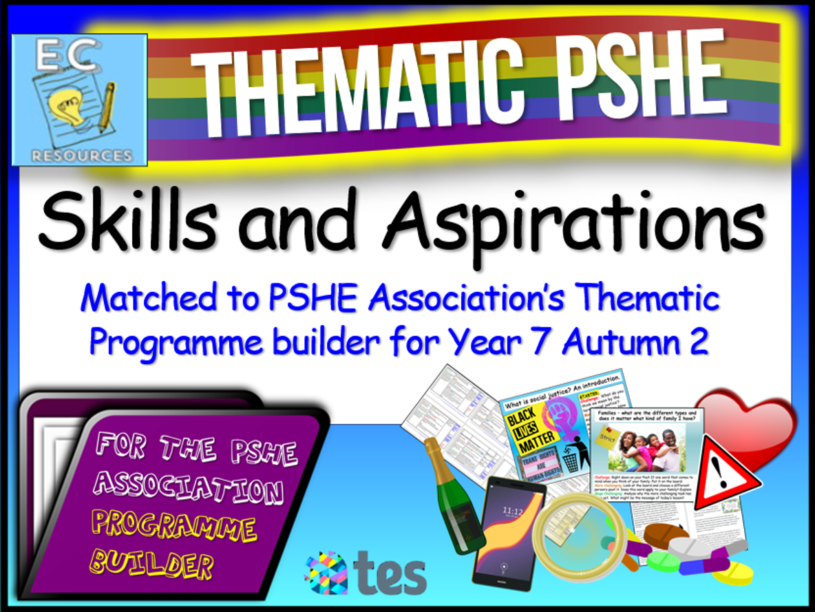 Skills and Aspirations Thematic PSHE