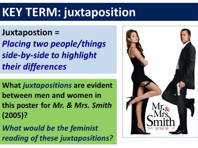 9-1 GCSE Media Studies Key Concepts lesson 8: Representation, Counter-Stereotypes and Feminism